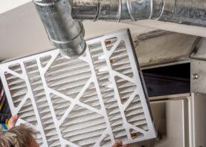 furnace air filter change